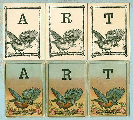 Logomachy cards