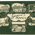 Postcard souvenir nancy