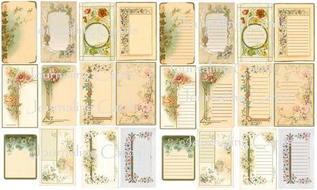 Journaling Cards both styles wtrmk