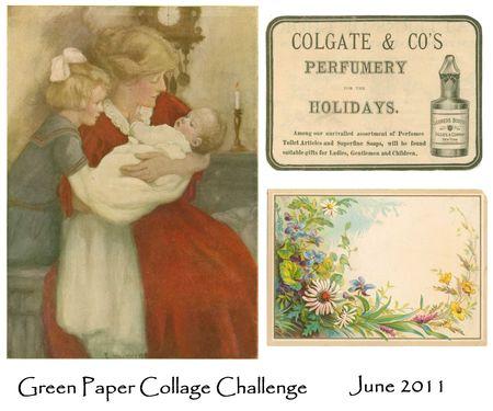June 2011 collage challenge sheet