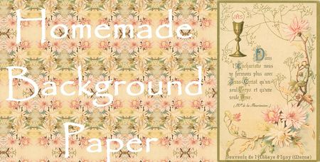 Background handmade paper