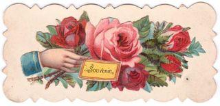 Souvenir calling card