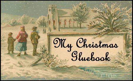 My christmas gluebook button 1212