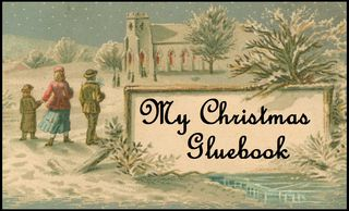 My christmas gluebook button 1212