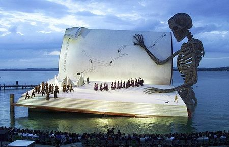 Book stage Austria's Bregenz Festival