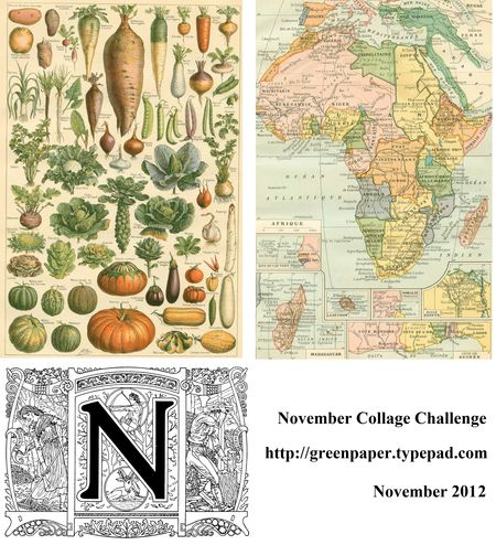 November 2012 collage challenge