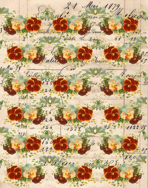 Barbara Dunford's patterned paper