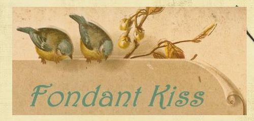 Debbie's Blog Banner - Fondant kiss
