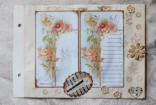 Liz Waring journal page