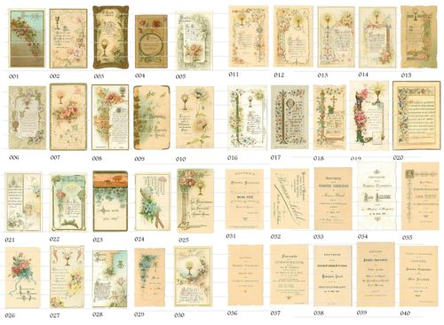 Catholic Christmas Holy Cards